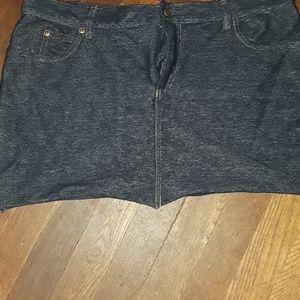 Super short skirt